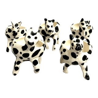 Ceramic Cow Dishes - Set of 5