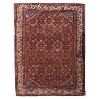 "Antique Persian Handmade Mahal Rug - 8'9"" X 11'7"""
