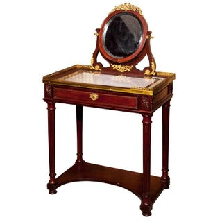 French Louis XIV Style Vanity Table
