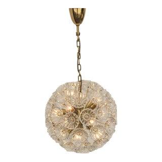 Floral Glass Pusteblum Chandelier