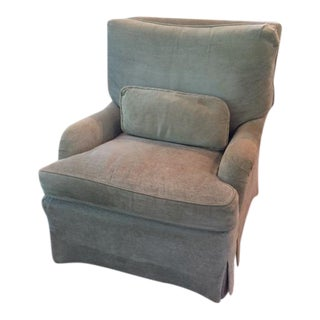Custom English Armchair