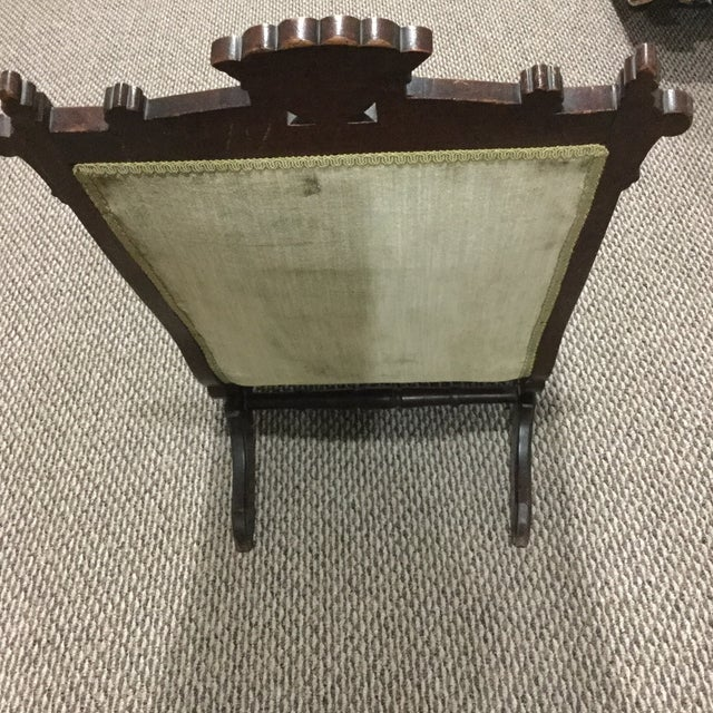 Antique East Lake Rocker - Image 4 of 6