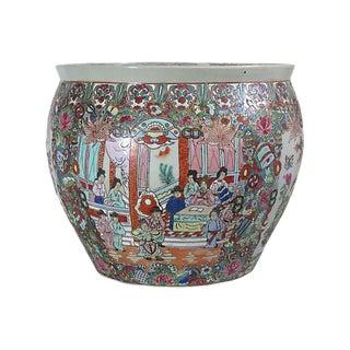 Porcelain Fish Bowl Planter