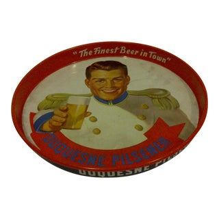 1950s Vintage Beverage Serving Tray