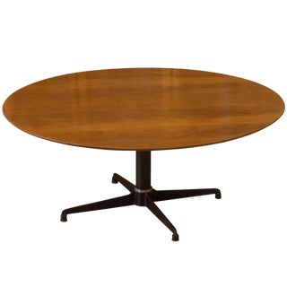 Danish Teak Adjustable Height Cocktail Table