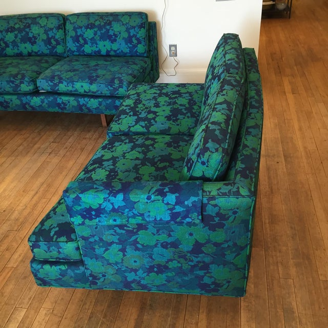 Mid-Century Modern Custom Made Sectional - Image 6 of 8
