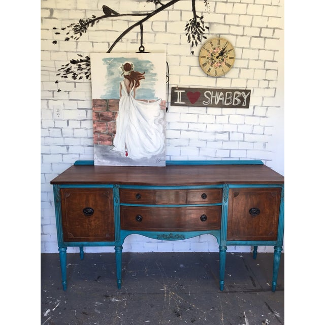 Image of 1900's European Antique Sideboard