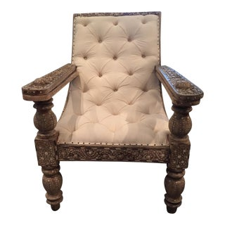 19th Century Anglo-Indian Plantation Chair