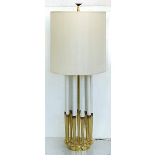 Monumental Mid-Century Table Lamp by Tommi Parzinger for Stiffel