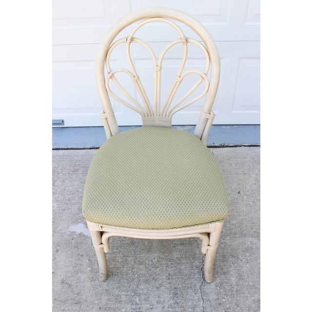 Vintage Rattan/Bamboo Accent or Desk Chair - Image 6 of 6