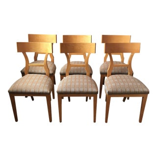 Maple Dining Chairs - Set of 6