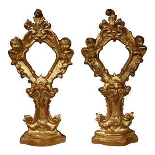 Pair of Church Reliquaries