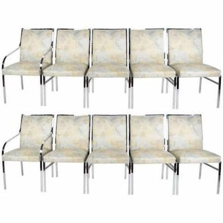 Milo Baughman Dining Chairs - Set of 10