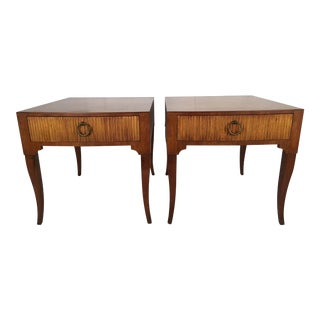 Baker End Tables - A Pair