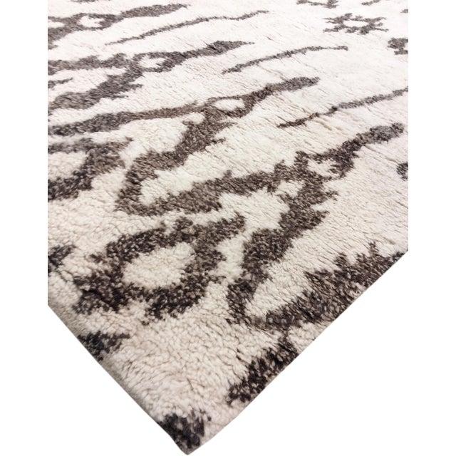 Pasargad Moroccan Lamb's Wool Rug - 9′3″ × 12′3″ - Image 3 of 4