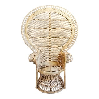 Rattan Loop Peacock Chair