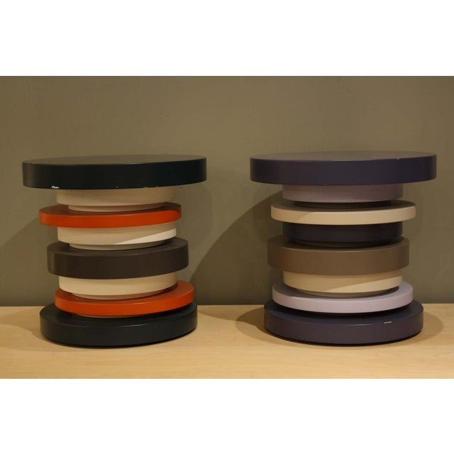 Image of Tomasella Stacked Side Tables - a Pair