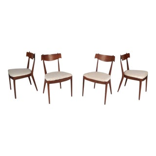 Set of Vintage Modern Drexel Declaration Dining Chairs by Kipp Stewart