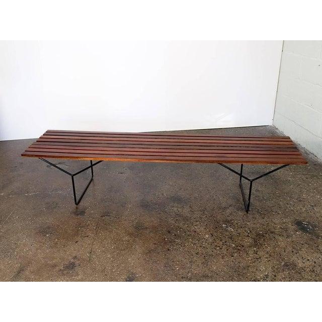 Modern Slat Bench - Image 2 of 7