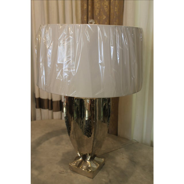 Image of Silver Point Table Lamp