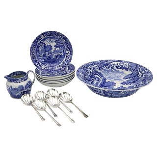 Spode Italian Fruit Set - 14 Pieces