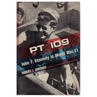 """""""Pt 109: John F. Kennedy in WWII"""" 1961 Hardcover Book by Robert J. Donovan"""