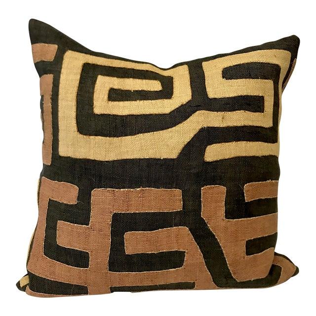 African Kuba Cloth Pillow - Image 1 of 5