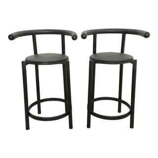 Anna Castelli Ferrieri For Kartell Italy Counter Stools - A Pair