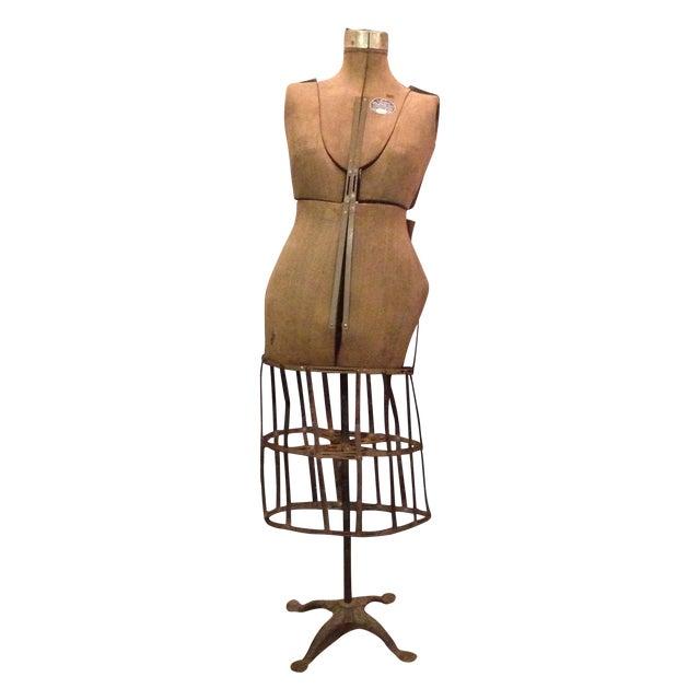 Antique Adjustable Dress Form Mannequin - Image 1 of 11