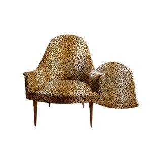 Sculptural Mid Century Danish Modern Chair