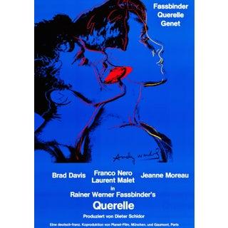 "Warhol ""Querelle"" German  Film Poster"