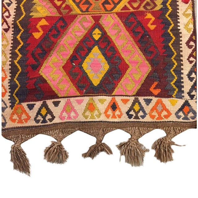 Vintage Kilim Runner - 2′5″ × 12′4″ - Image 5 of 5
