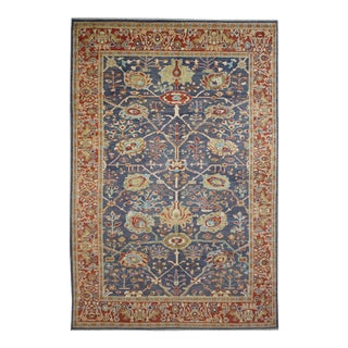 "Hand Knotted Oushak Rug by Aara Rugs Inc. - 11'3"" X 8'9"""
