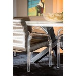 Image of Lucite Armchairs - Lion in Frost - Set Of 6