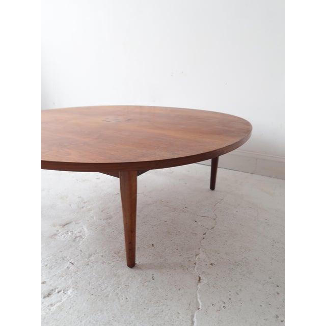 Kipp Stewart For Drexel Mid Century Round Coffee Table Chairish