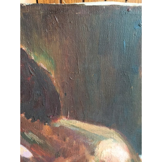 1960's Mid Century Female Nude Painting - Image 6 of 6