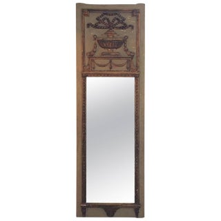 Antique Louis XVI Trumeau Mirror
