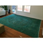 Image of Hand Knotted Overdyed Turkish Rug - 9′6″ × 13′3″