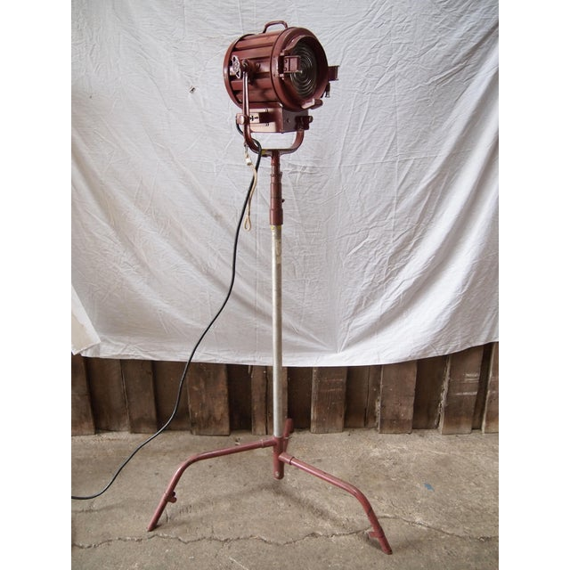 Mole Richardson Vintage Industrial Floor Lamp - Image 2 of 5