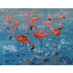 "Image of ""Flamboyance"" Flamingo Painting by Celeste Plowden"