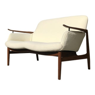 Early Finn Juhl Nv53 Settee for Niels Vodder