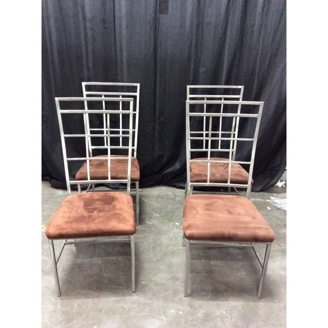 Modern Style Dining Chairs - Set of 4 - Image 2 of 7