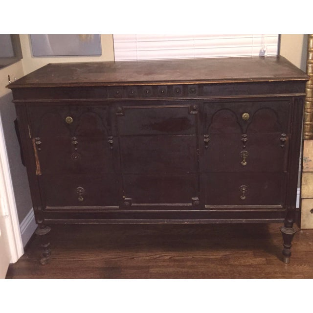 1920s Vintage Sligh Furniture Company Buffet - Image 2 of 3 - 1920s Vintage Sligh Furniture Company Buffet Chairish