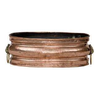 Dutch Copper Jardiniere, Circa 1820