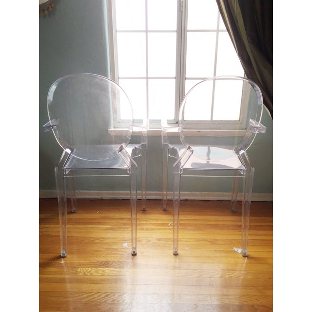 ModShop Replica Louis Ghost Chair - Pair - Image 4 of 4