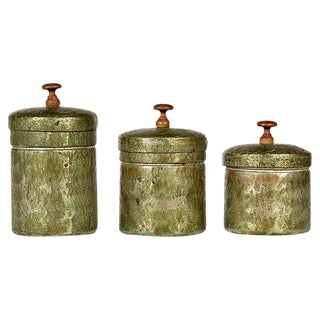 Switzerland Copper Canisters, Set of 3