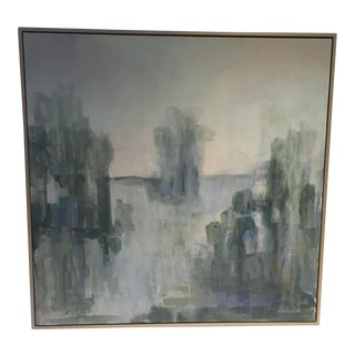 Serene Waterscape Impressionist Painting
