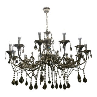 Royal Cut Teardrop Crystal Chandelier