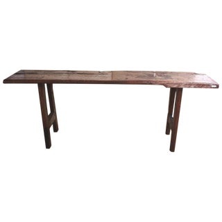 Javanese Serving Table or Bench
