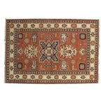 "Image of Apadana - New Brown Caucasian Rug - 6'9"" x 9'8"""